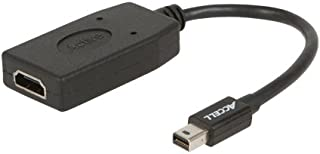 Accell mDP to HDMI Adapter - Mini DisplayPort 1.2 to HDMI 1.4 Active Adapter - 4K UHD @30Hz, 1920X1080@120Hz, 2560X1600@60Hz - Polybag