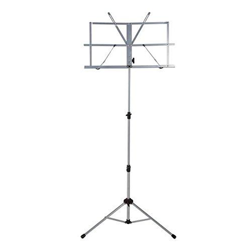Ravel Folding Music Stand, Silver (SSSRAVELSILVER)