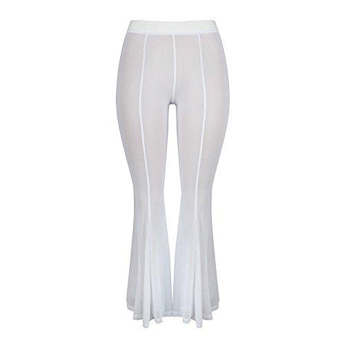 YWLINK 2018 Damen Kleidung,Mode Frauen Strand Mesh Schier Bikini Abdeckung Oben Bademode Transparent Lange Hosenhose