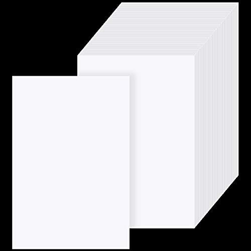 100 Stücke Diamant Malerei Trennpapier Doppelseitiges Trennpapier Antihaft Diamant Malerei Abdeckung Ersatzpapier, 5,9 x 3,9 Zoll