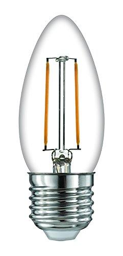 Tijd LED kaars filament 2 W niet dimbaar lamp WW, E27, 2 W