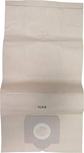 bester Test von cleancraft staubsauger Cleancraft Papiertüte für Staubsauger 7010101, 5 Stk.