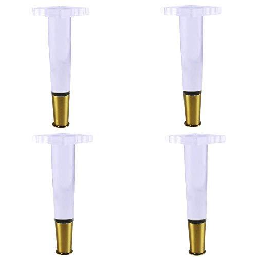 Basage 4 Teile/Satz 4 Zoll Konische Acryl Sofa Beine Plexi Glas Tisch Beine Acryl Schrank Beine M?Bel Zubeh?R Stuhl Beine