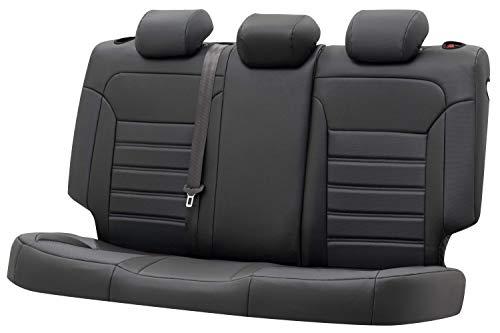 Walser Funda de asiento Robusto, funda compatible con VW Tiguan (AD1) año de fabricación 01/2016 – 1 funda de asiento trasero para asientos normales