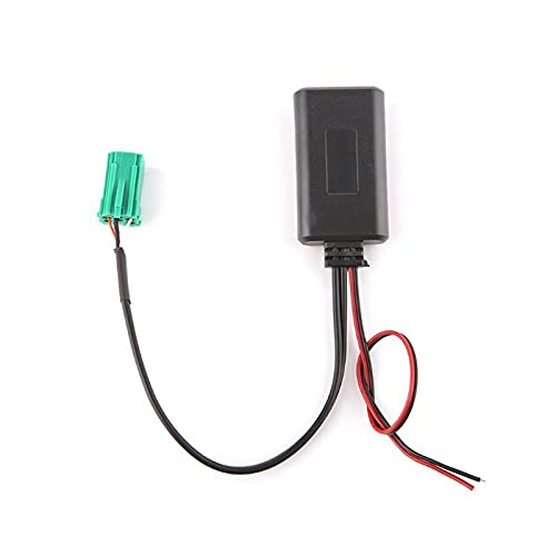 PINGYAYANG Cable Bluetooth Aux Adaptador Radio inalámbrico Estéreo Aux-in Cable Fit para Renault Fit para Clio para Kangoo para Megane Fit para Scenic