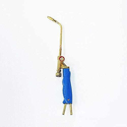 Antorcha de soldadura, Mini gasolina soldada de gas H01-2 Oxígeno Propano Gas Gas de carbón natural LPG para soldadura soldadura soldadura de acero aluminio de acero plateado