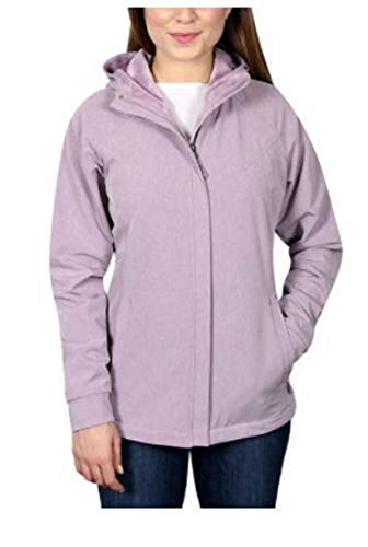 Kirkland Signature Ladies' Softshell Jacket (Purple, Small)