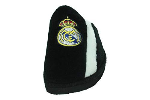 ANDINAS 590-91 Real Madrid Negra Hombre Zapatillas CASA Negro 37