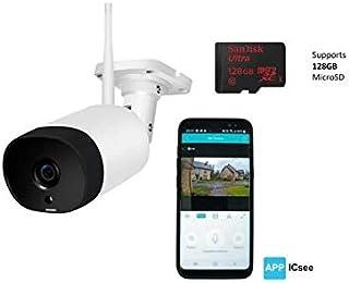 Securefast External Camera WIFI with 2 Way Audio Capability - 1080p - Fully Waterproof Aluminium Body - 30m Night Vision