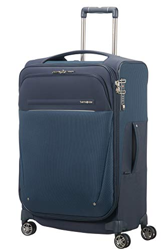 SAMSONITE B-Lite Icon - Spinner 63/26 Expandable, 55 L, 2.2 KG Hand Luggage, 63 cm, 62 liters, Blue (Dark Blue)