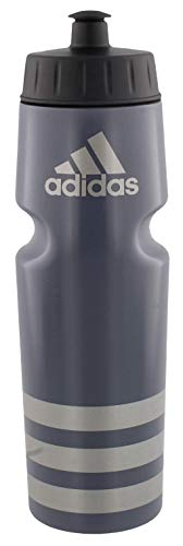 adidas Unisex Squeeze 750 Plastic Bottle, Onix/Silver, ONE SIZE
