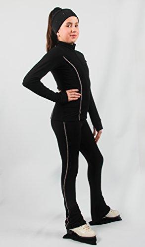Jacke > Sport & Freizeit > Wintersport > Eislaufen > Bekleidung > Mädchen (Salmon neon, Größe: M/Größe EUR: 42-44/Größe UK: 12-14)