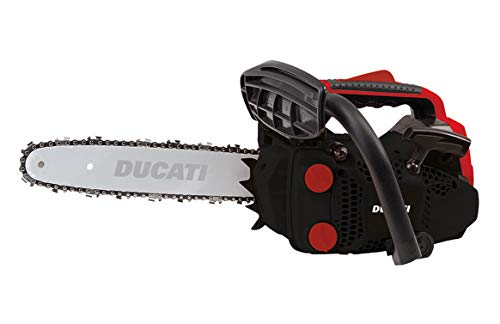 Ducati DCS2600 - Motosierra de poda 25.4 cc con barra de 10'