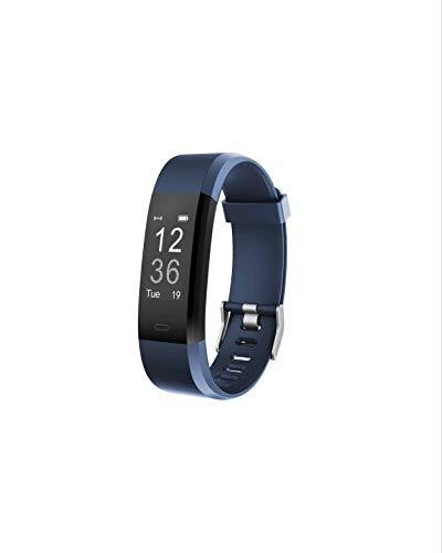 Toksum Boost 2 Slim Fitness Tracker Pulsera Inteligente | Portátil Pantalla táctil Impermeable Actividad Tracker podómetro Reloj Pulsera con Monitor de sueño | para niños, Mujeres y Hombres