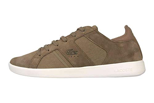 Lacoste Novas 119 3 SMA Sneaker in Übergrößen Braun 37SMA00382A9 große Herrenschuhe, Größe:48