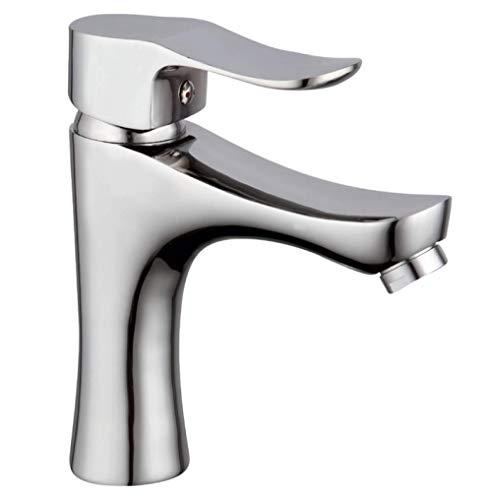 HYY-YY Grifo de lavabo de un solo uso grifo de agua caliente y fría