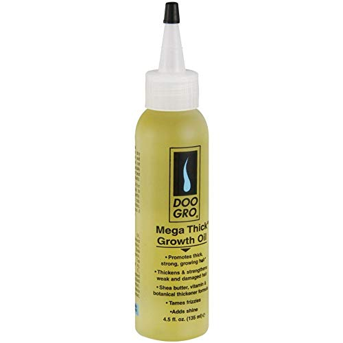 DOO GRO Mega Thick Growth Oil, 4.5 oz (Pack of 4)
