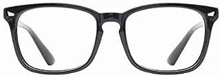 نظارة BW المضادة للضوء الأزرق أسفل العين وتقليل وهج الأشعة فوق البنفسجية قراءة الكمبيوتر ألعاب التلفزيون للاستخدام طويل