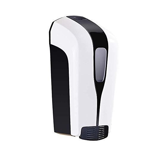 HYY-YY Dispensador de jabón de pared para baño de hotel, dispensador de jabón de mano, dispensador de jabón para hotel, champú de ducha, botella de gel (color: blanco, tamaño: 11 x 8,3 x 23 cm)