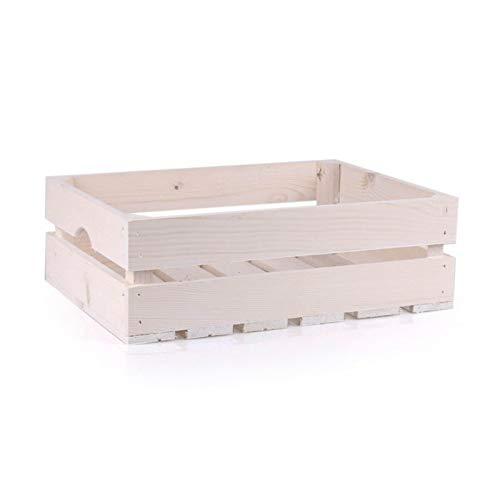 Gem/üsekiste//Eurobeh/älter klappbar Boden und W/ände durchbrochen gr/ün LxBxH 600x400x233 mm