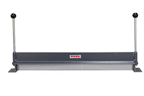 KAKA W1.2x760 30-Inch Sheet Metal Bending Brake, 18 Gauge Mild Steel and 16 Gauge Aluminum