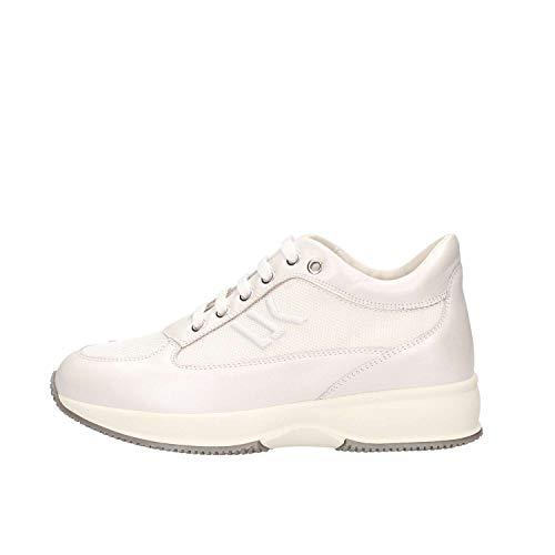Lumberjack Raul 4, Sneaker Donna, Bianco (White Carnum), 41 EU