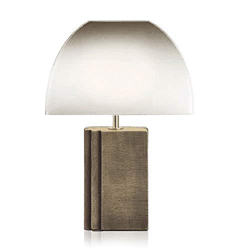 SXNYLY Arte de la mesa dormitorio de la lámpara lámpara de cabecera Diseño lámpara decorativa, hotel, sala de estar, sala de estudio, lámpara de mesa lámpara de mesa de noche for el dormitorio y la Of