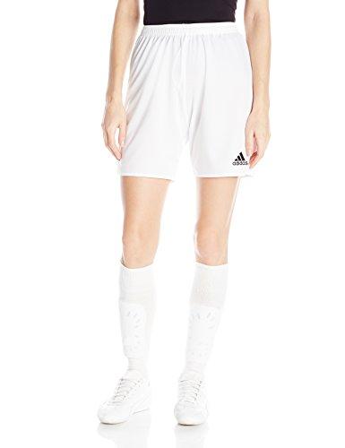 adidas Women's Parma 16 Shorts, White/Black, Medium