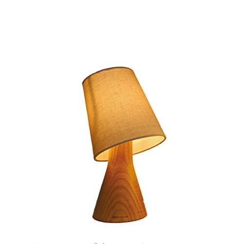 Bedlampje van de houten creatieve slaapkamer van het bedlampje minimalistisch warm licht bedlampje van het kleine hout kleine tafellamp