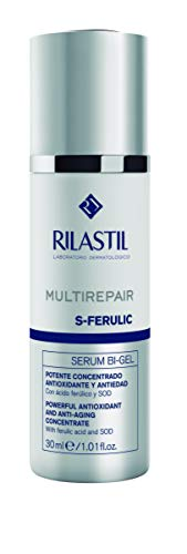 Rilastil Multirepair S-Ferulic- Sérum Bi-gel Antioxidante y Antiedad, 30 ml