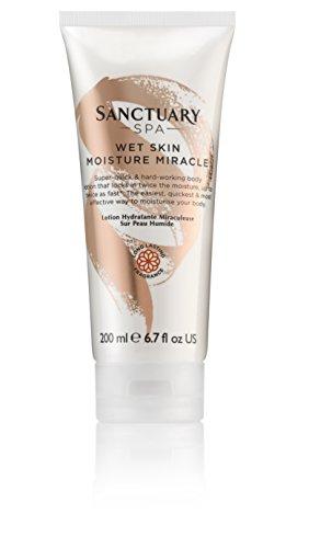 Sanctuary Spa Body Lotion, Wet Skin Moisture Miracle Vegan Body...