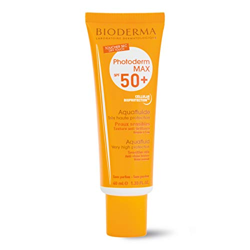BIODERMA Photoderm Max Aquafluido Spf 50 plus Sonnencreme, 1er Pack 40ml