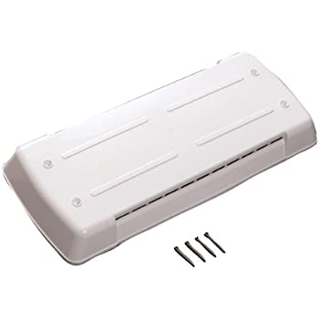 """RVGUARD 14/""""x 14/""""RV Roof Vent Cover White Universal Replacement Vent Lid for Camper Trailer Motorhome 2 Pack"""