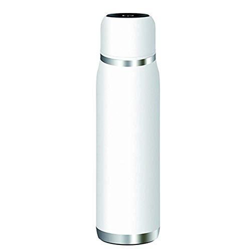 Lvhan Isolierflasche USB Wiederaufladbare langlebige Thermosflasche Edelstahl Sterilisationswasserbecher