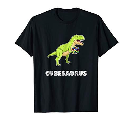 Cubesaurus - Rubik Cube Dinosaur Riddle T Shirt Men Women