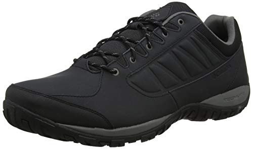 Columbia Ruckel Ridge, Zapatillas de Senderismo para Hombre, Negro (Black, City Grey),...