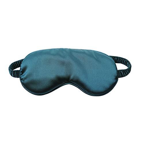 Lichtbeschermende Bril, Zijden Slaapmasker 1 Donkergroen