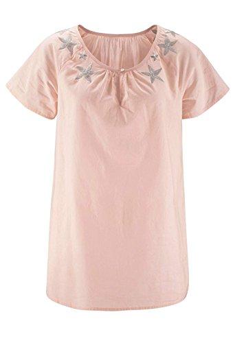 Tamaris Damen-Bluse Bluse Rosa Größe 40