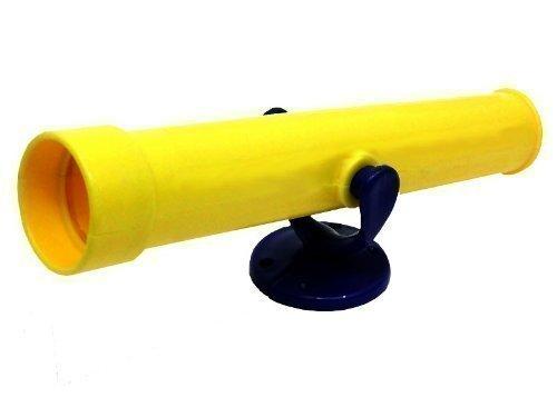 Loggyland Teleskop Fernrohr für Spieltürme, (gelb)