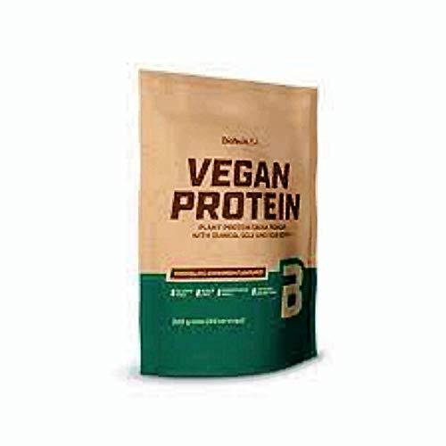 BioTech USA Vegan Protein (2x500g) + Shaker + Proben (Schoko-Zimt)