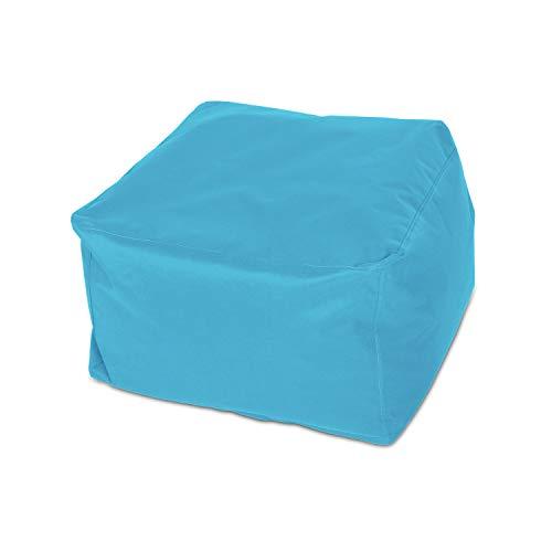 knorr-baby 440302 - Sgabello quadrato, misura L, colore Blu petrolio