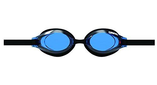 arena(アリーナ) 水泳 ゴーグル グラス プレミアムアンチフォグ クッションタイプ フリーサイズ AGL-560PA ブルー×ブラック(BLU) くもり止め