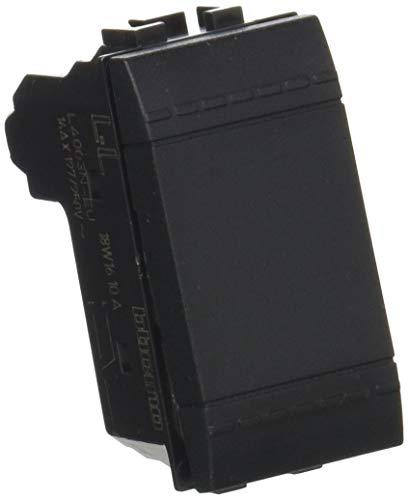 Deviatore L4003N 10A Living Light deviatore 1P 16 AX 250 Vac - Antracite