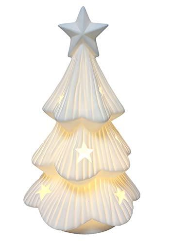 Darice Ceramic Light-Up LED Christmas Tree Standard