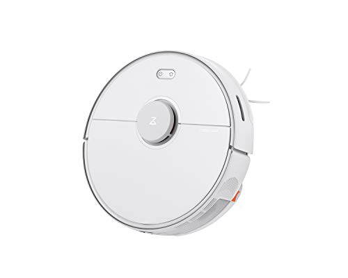 Roborock S5 MAX Robot Vacuum and Mop, Self-Charging Robotic Vacuum Cleaner, Lidar Navigation, Selective Room Cleaning, No-mop Zones, 2000Pa Powerful Suction, 180min Runtime, Works with Alexa(White)