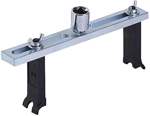 Kit pour enlever le couvercle du réservoir de carburant par FireAngels - Modèle universel avec pompe et clé à molette - Outil de réparation pour voiture