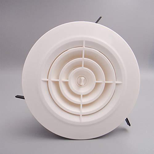 Wnuanjun, luchtklep, polypropyleen, luchtrooster voor plafond- of wandmontage, 4 inch, luchtverdeler voor airconditioning, uitlaat Lfvg-13c 6 Inch
