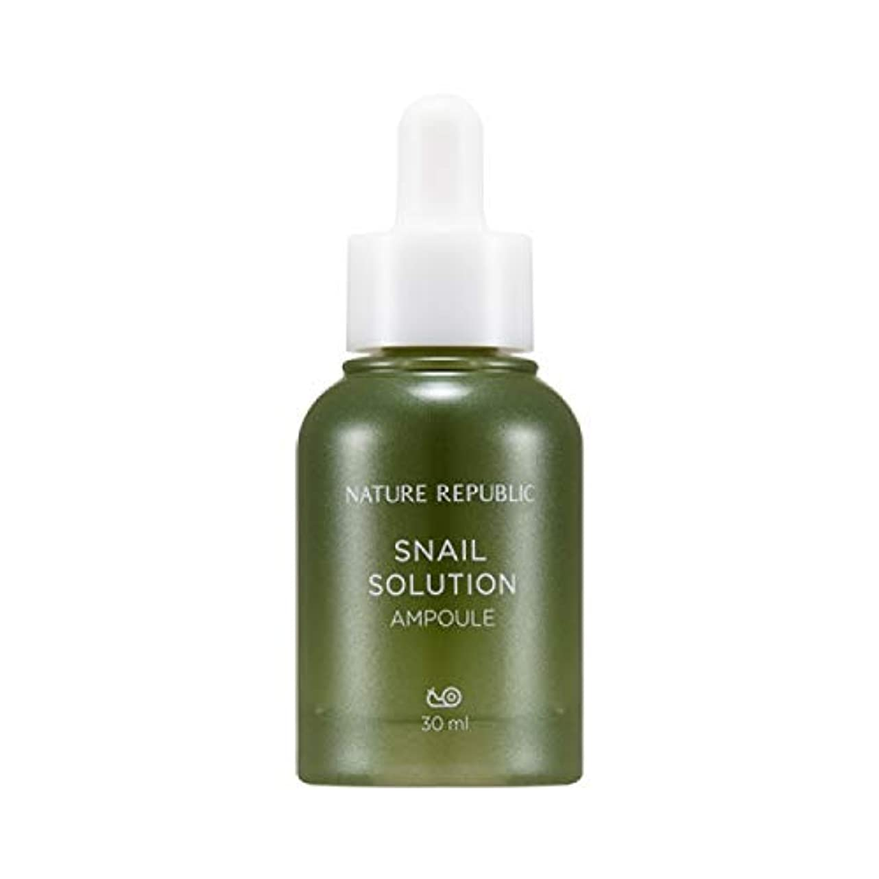 概して円周サイトラインネイチャーリパブリック(Nature Republic)カタツムリソリューションアンプル 30ml / Snail Solution Ampoule 30ml :: 韓国コスメ [並行輸入品]