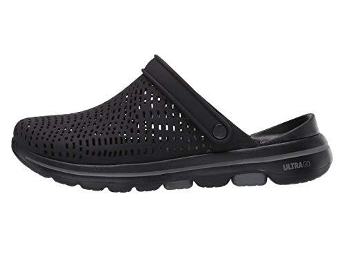 Skechers Women's Foamies Go Walk 5-Astonished Cali Gear Clog, Black, 8 M US