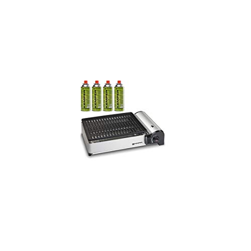 Barbecue gaz portable 1.9 KW Kemper grille anti...